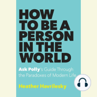 How to Be a Person in the World