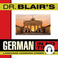 Dr. Blair's German in No Time