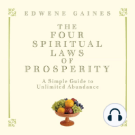 The Four Spiritual Laws of Prosperity