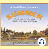 News from Lake Wobegon: Summer: Stories From The Collection News From The Lake Wobegon