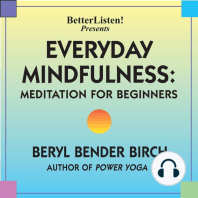 Everyday Mindfulness - Meditation for Beginners