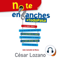 No te enganches