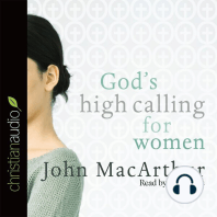God's High Calling for Women