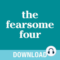 The Fearsome Four: Overcoming Fear, Guilt, Insecurity & Worry