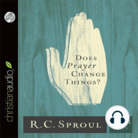 Does Prayer Change Things?