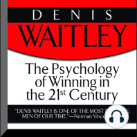 The Psychology of Winning in the 21st Century