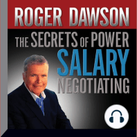 The Secrets of Power Salary Negotiating