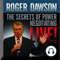 The Secrets of Power Negotiating Live!