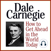 How to Get Ahead in the Wold Today