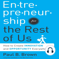 Entrepreneurship for the Rest of Us
