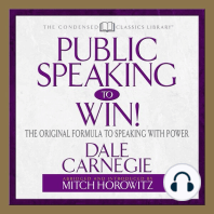 Public Speaking to Win!
