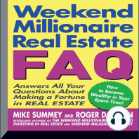 Weekend Millionaire's Real Estate FAQ