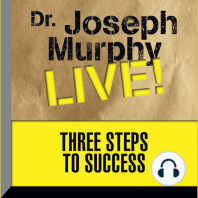 Three Steps to Success