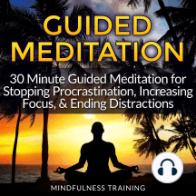 Guided Meditation - Stopping Procrastination: 30 Minute Guided Meditation for Stopping Procrastination, Increasing Focus, & Ending Distractions (Self Hypnosis, Affirmations, Guided Imagery & Relaxation Techniques)