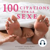 100 citations sur le sexe