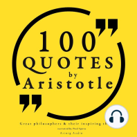 100 Quotes by Aristotle