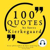 100 Quotes by Søren Kierkegaard: Great Philosophers & Their Inspiring Thoughts