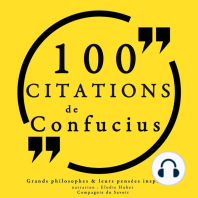 100 citations de Confucius