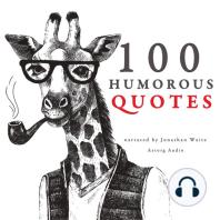 100 Humorous Quotes