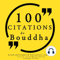 100 citations de Bouddha