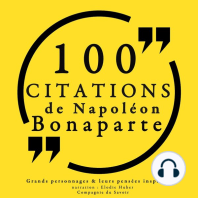 100 citations de Napoléon Bonaparte