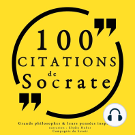 100 citations de Socrate