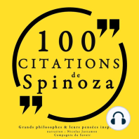 100 citations de Spinoza