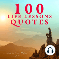 100 Life Lessons Quotes