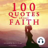 100 Quotes About Faith