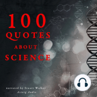 100 Quotes About Science