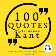 100 Quotes by Immanuel Kant