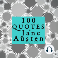 100 Quotes by Jane Austen