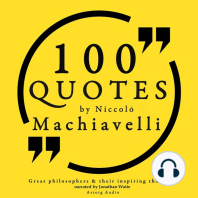 100 Quotes by Niccolò Machiavelli