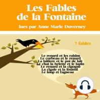 7 fables de La Fontaine