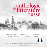 Anthologie de littérature russe