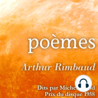 Arthur Rimbaud lues par Michel Vitold