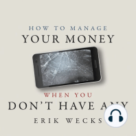 How to Manage Your Money When You Don't Have Any