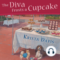 The Diva Frosts a Cupcake