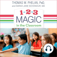 1-2-3 Magic in the Classroom: Effective Discipline for Pre-k Through Grade 8
