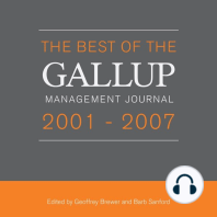 The Best of the Gallup Management Journal 2001-2007