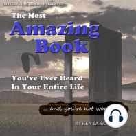 The Most Amazing Book You've Ever Heard In Your Entire Life