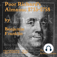 Poor Richard's Almanack 1733-1758
