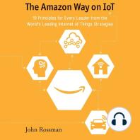 The Amazon Way on IoT
