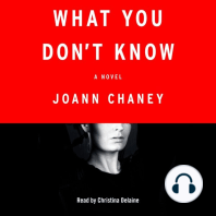 What You Don't Know