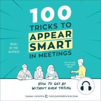 100 Tricks to Appear Smart in Meetings