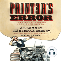 Printer's Error