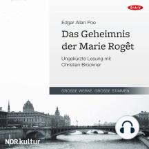 Das Geheimnis der Marie Roget (Ungekürzt)