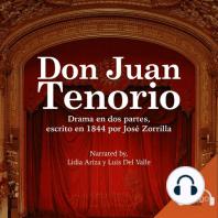 Don Juan Tenorio - A Spanish Play
