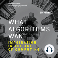 What Algorithms Want