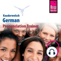 Kauderwelsch Pronunciation Trainer German - Word by Word